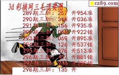 3d298期:三毛追奖图+三毛藏机图